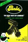 Panda All Natural Soft Licorice 200g