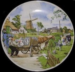 Plate 004 Milk Wagon