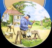 Plate 006 Klompenmaker--Wooden Shoe Maker by Ter Steege