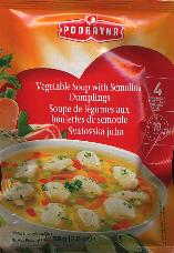 Podravka Vegetable Soup with Semolina Dumplings 58g (4 servings)