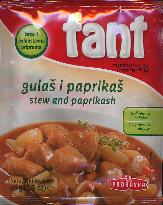 Fant Podravka Seasoning Mix for Stew with Paprika 65g (4 serving