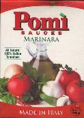 Pomi Marinara Sauce All Natural 100% Italian Tomatoes 750g