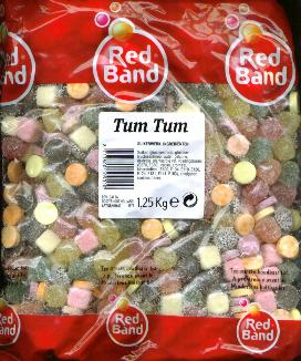 Red Band Tum Tums 1.25 Kilo Bag