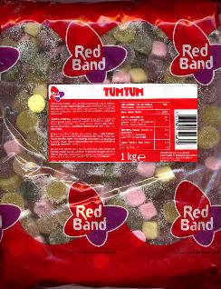 Red Band Tum Tums 1 Kilo Bag
