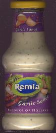 Remia Knoflook (Garlic) Sauce 250ml -- 260g