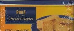 Roka Cheese Crispies in collectible tin -- 200g
