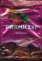 Skawa Pierniczki Chocolate Covered Gingerbread with filling