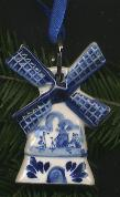 Delfts Windmill Ornament 7cm 2.75 inches