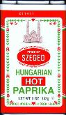 Hungarian Hot Paprika 5 oz.
