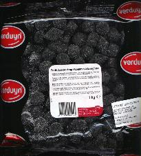 Zaanse Drop -- 1kg. Bag Licorice Jellies Brand Varies