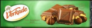 Verkade Milk/Hazelnut Bar - 180g