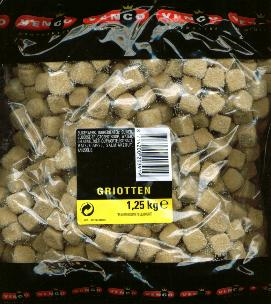 Venco Griotten / Salmiak Cubes 1.25 Kilo Bag