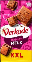 Verkade Milk Chocolate Bar XXL - 192g
