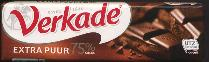 Verkade Extra Puur Chocolate Bar 75g