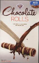 Vegter Rolletjes Milk Chocolate Rolls 100g