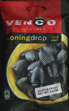 Venco Honingdrop Hard Zoet -- Honey Licorice 5.8oz.