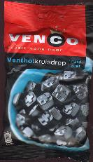 Venco Mentholkruisdrop Hard Zoet -- Menthol Licorice 6oz