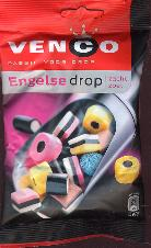 Venco Engelse drop Zacht Zoet -- English Licorice 4.4oz.