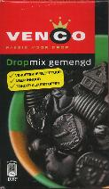 Venco Dropmix Gemengd 500g Boxed Drop mixed licorice pondspak