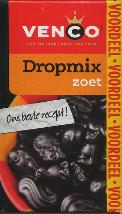 Venco Dropmix Zoet 520g Boxed Drop sweet licorice pondspak