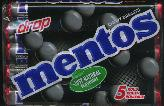 Van Melle -- Mentos Drop Roll / Licorice Mentos pack of 5 rolls