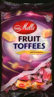 Van Melle Fruit Toffees 250g