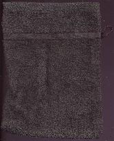 Washandje Dark Grey -- Wash cloth mit dark grey