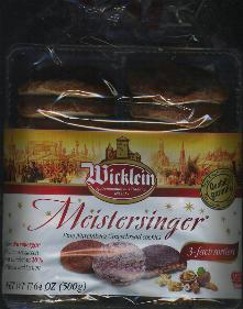 Wicklein 3 Variety Christmas Gingerbread Cookies 500g