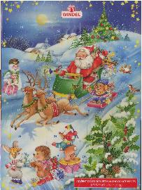 Advent Calendar-Count the 24 Days of Christmas-Pictures Vary