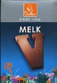 De Heer Milk Chocolate Letter Small  V 65g