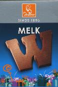 De Heer Milk Chocolate Letter Small  W 65g