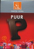 De Heer Dark Chocolate Letter Small  P 65g