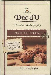 Duc d'O Milk Truffles -- Flaked Truffles  Smooth Milk Chocolate