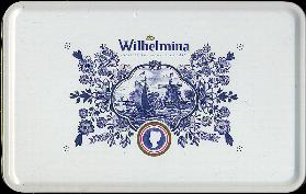 Fortuin Wilhelmina Tin with Peppermints -- 500g