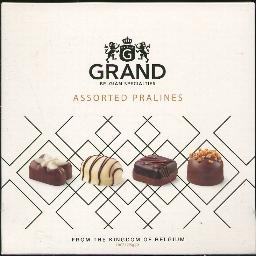 Grand Belgian Specialties Assorted Pralines 250g