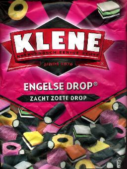 Klene Engelse Drop -- English Drop -- Licorice -- 1 Kilo