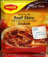 Maggi Beef Stew Seasoning Mix -- Goulash -- 44g