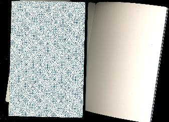 "Dutch Ornamental BLANK Notebook 8.25""x5.25""  48 pages"