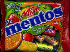 Mini Mentos --  Fruit Mix -- 178g