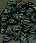 Drop -- Zoute Bootjes --  Salty Licorice Boats -- 1/4lb