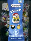 Riegelein Mini Chocolate Snowmen 100g