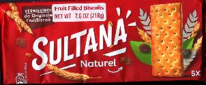 Verkade Sultana Naturel Fruit Biscuit 218g