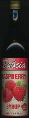 Babcia Raspberry Syrup - Juice Concentrate 1 liter
