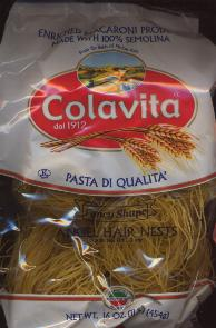 Colavita Angel Hair Nests 454g 1lb.