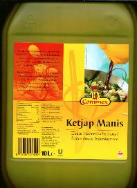 Conimex Ketjap Manis - 10 Liters 2.64 Gallons