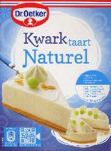 Dr. Oetker Kwark Taart Naturel -- Plain Cheesecake Mix 425g