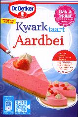 Dr. Oetker Strawberry Kwarktaart Mix