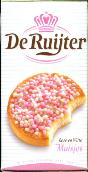 De Ruijter Rose en Witte Muisjes - Rose & White Sugared Aniseed