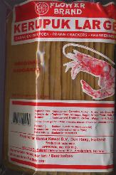 Flower Brand Large Kroepoek 500g unbaked from Indonesia