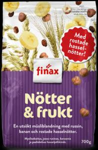 Finax Nuts and Fruit Muesli 650g
